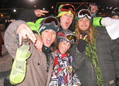 Danny Kass, Sketchy D, The Dingo,  Lauren Traub Teton at Grenade Strikes Back